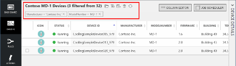 Device Management Capability in Azure IoT Suite
