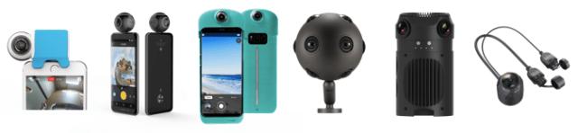 New Facebook Live 360 Cameras