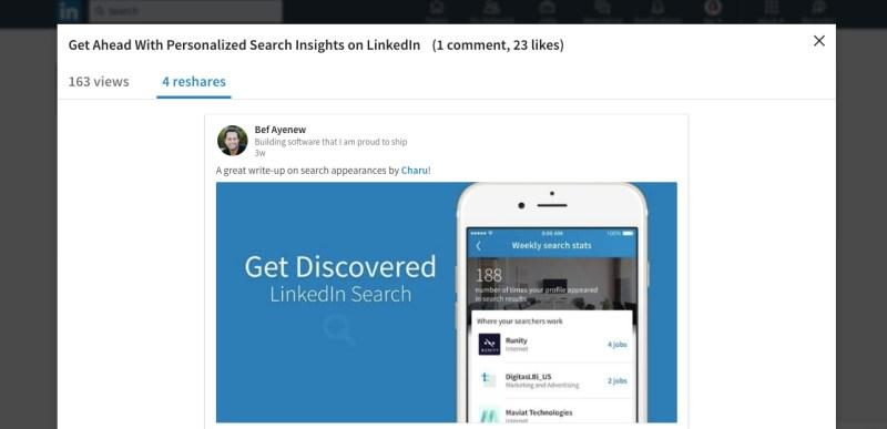 LinkedIn Posts Analytics