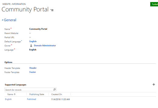 Portal capabilities for Microsoft Dynamics 365 new multiple language support