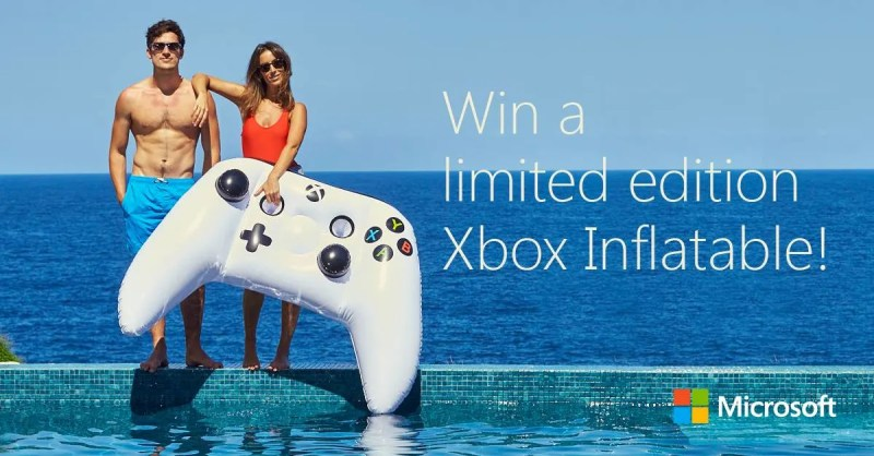 limited edition xbox inflatable on australia day