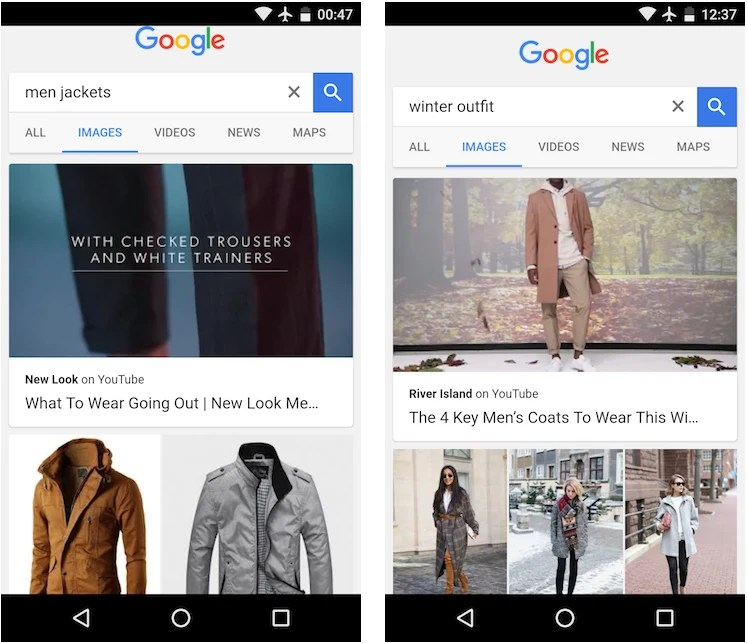 New Playable YouTube Videos in Google Mobile Search