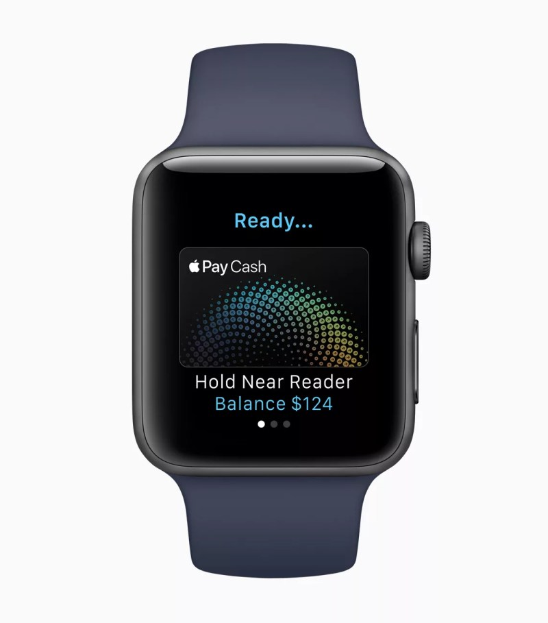 Apple Pay on Apple watchOS 4