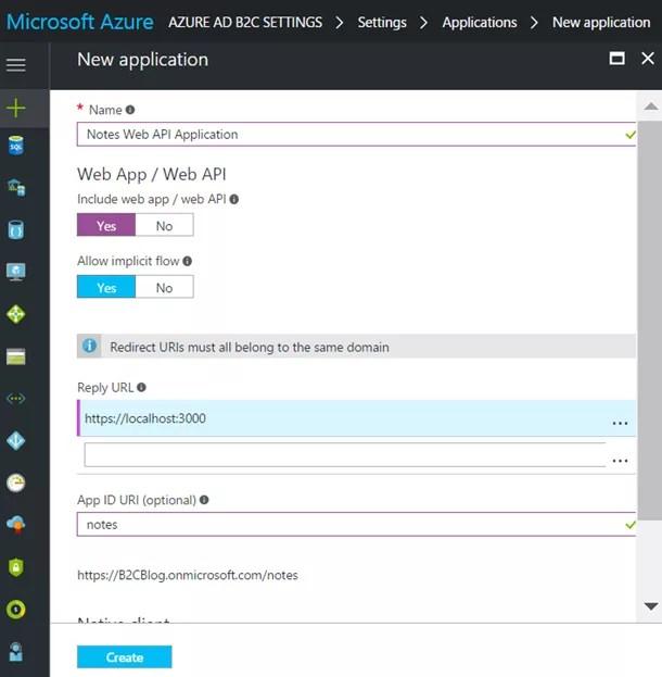 Azure AD B2C Access Tokens