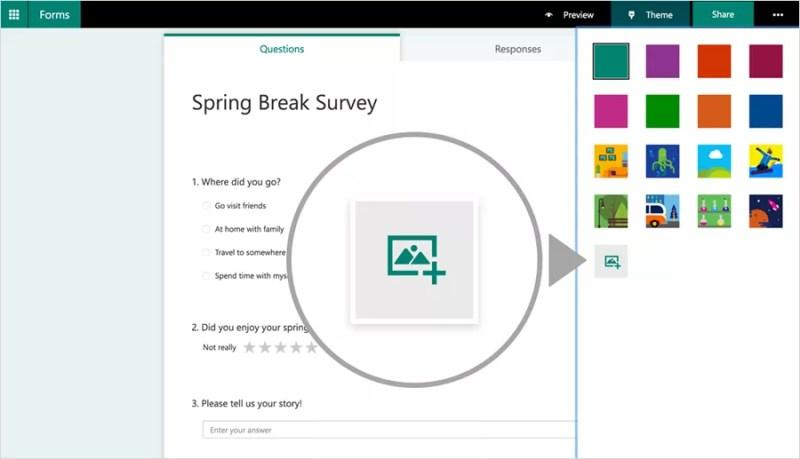 Customize Microsoft Forms