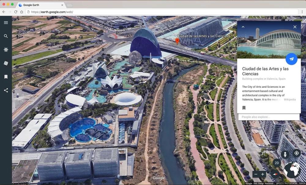 New Google Earth - I m feeling lucky