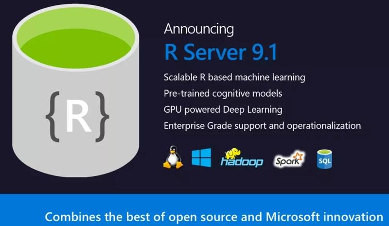 Microsoft R Server 9.1