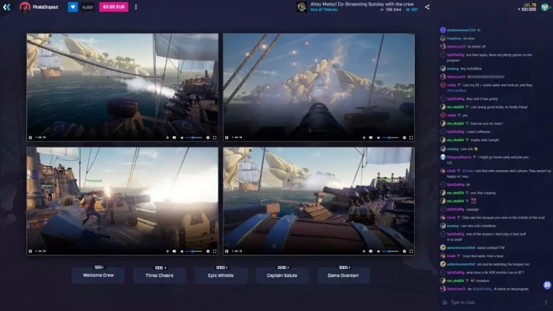Mixer Co-streaming