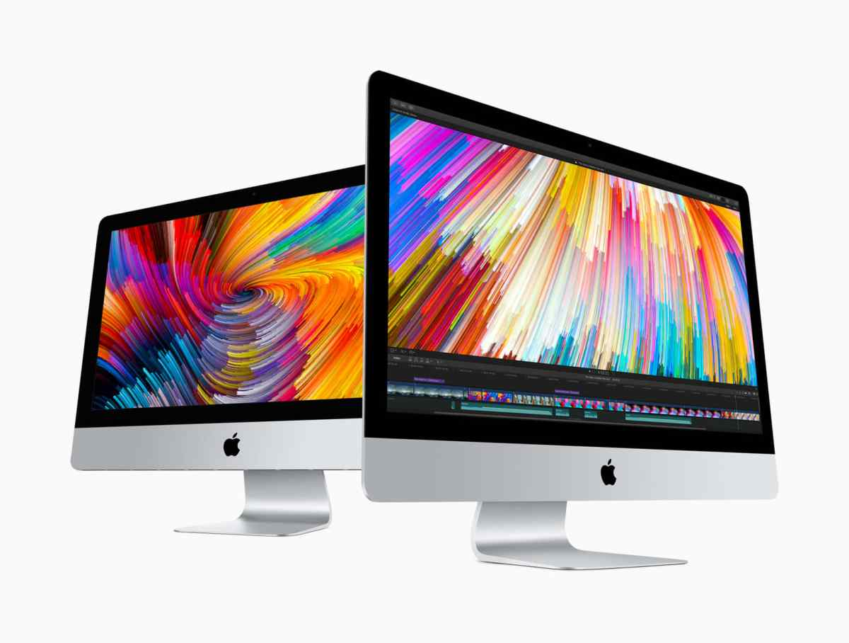 iMac with Retina 4K and 5K displays
