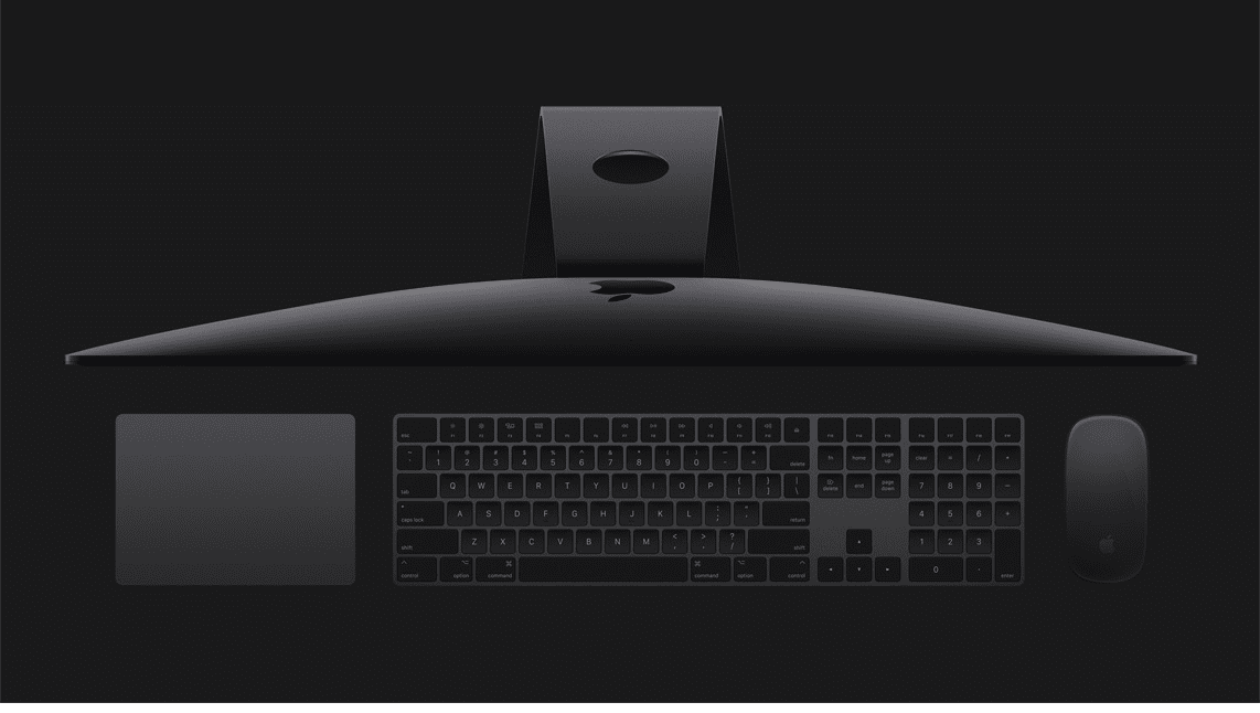 iMac Pro with stunning 27-inch Retina 5K display