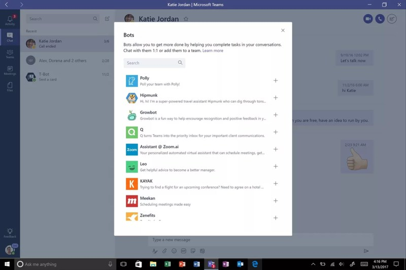 Microsoft Teams Bots