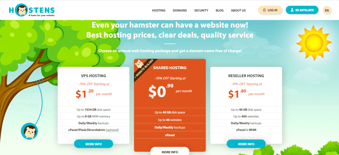 10 Best Web Hosting Website Designs in 2020 4