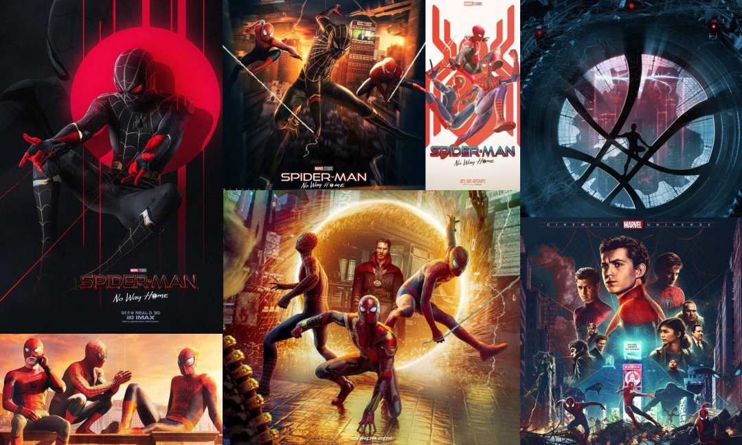 Some of the Best Spider-Man: No Way Home Digital Arts by Fans