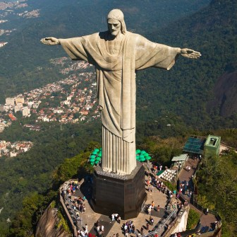 Image result for gigantic statue of Christ the Redeemer.