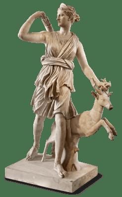 Artemis, die Jägerin und Göttin