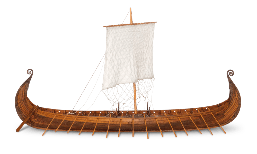 medium resolution of viking longship