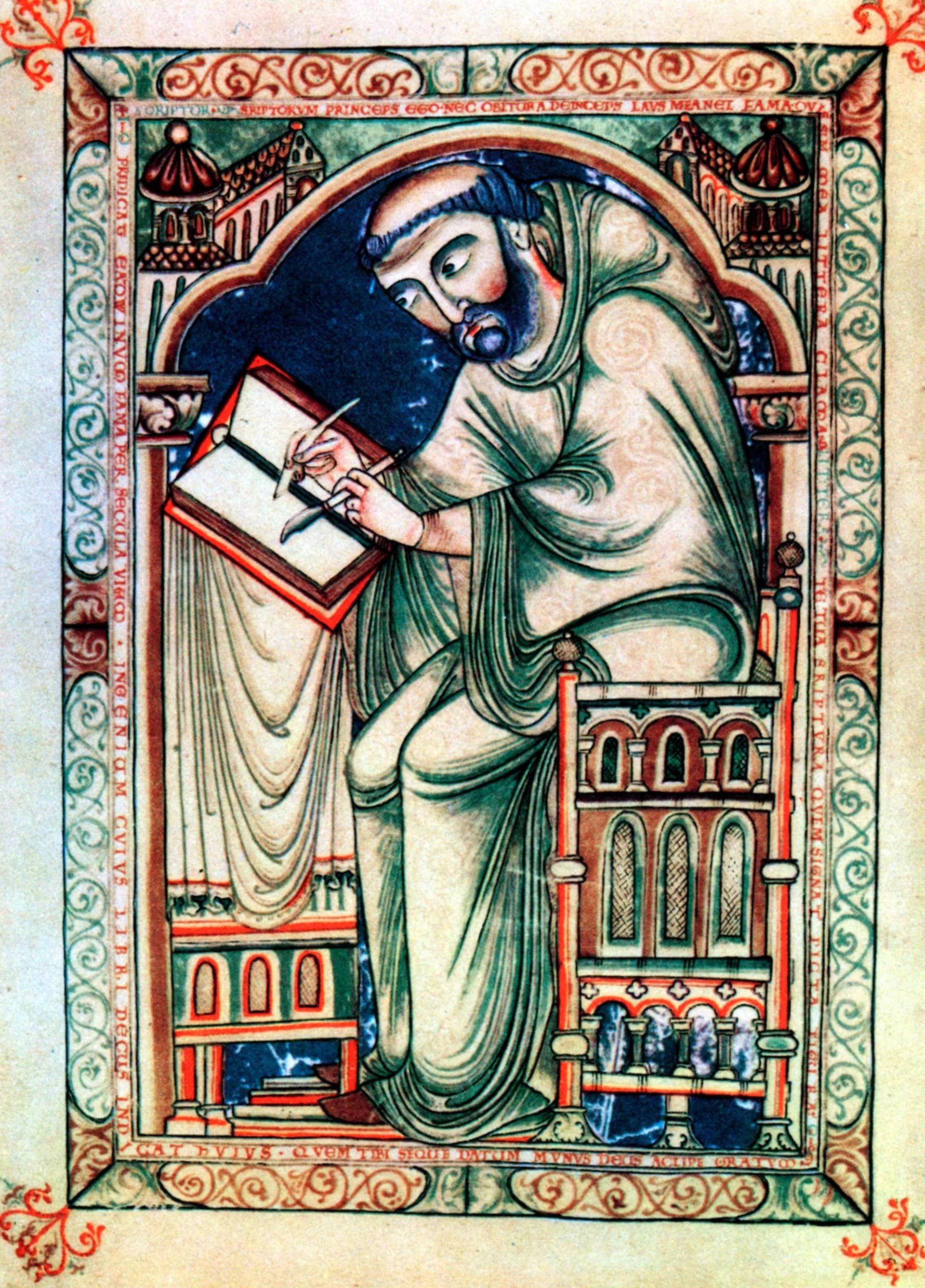 Anglo Saxon Writing