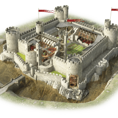Castle Diagram With Labels 5 Pin Round Plug Wiring Medieval Castles Facts For Kids Dk Find Out
