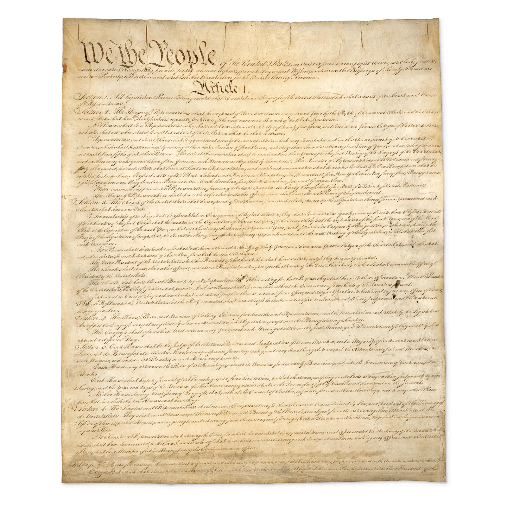 Us Constitution For Kids