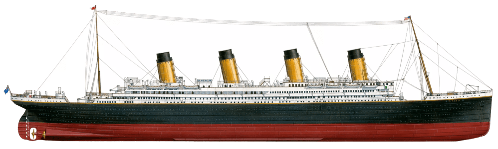 medium resolution of the titanic