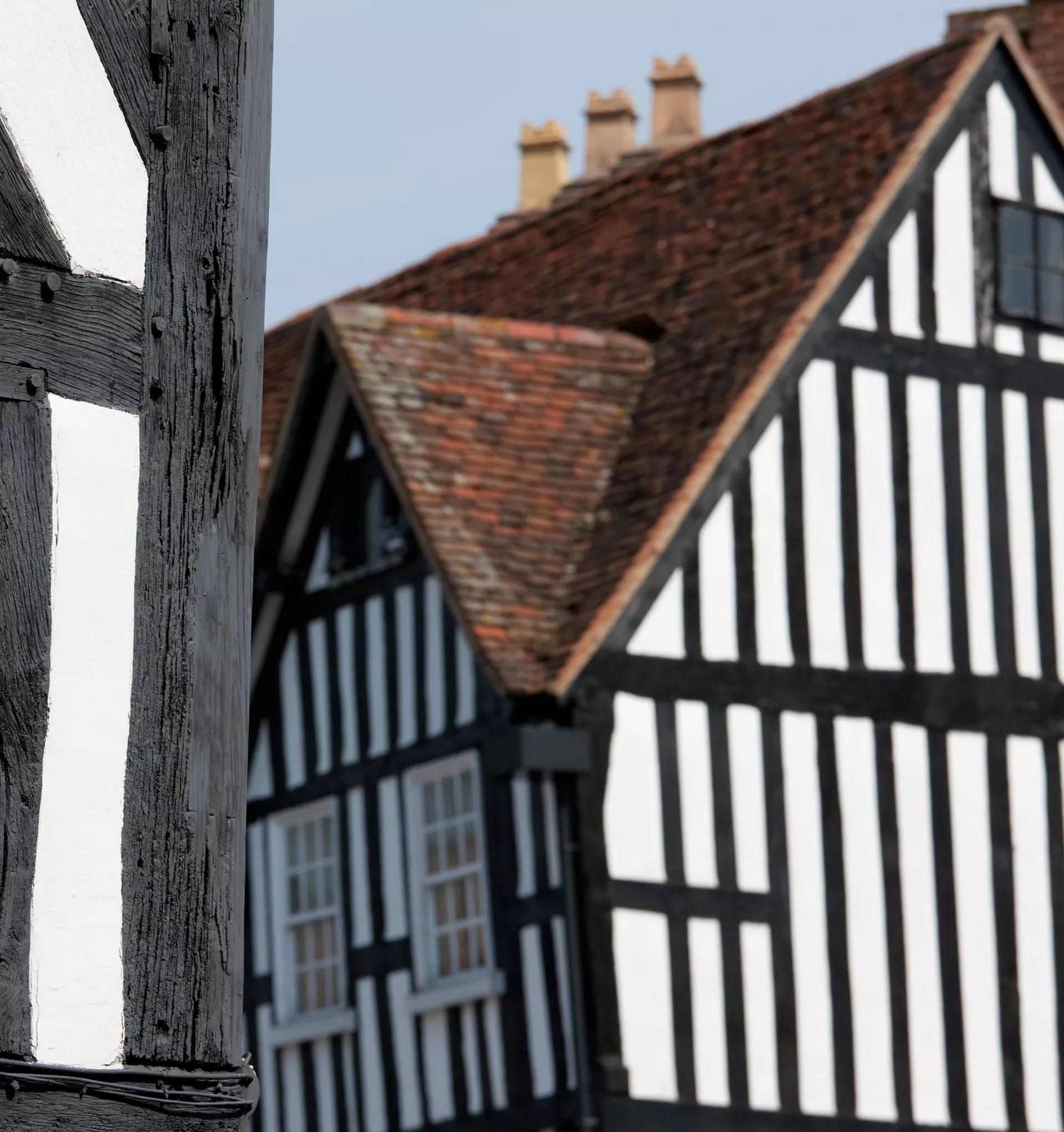 Tudor Buildings For Kids