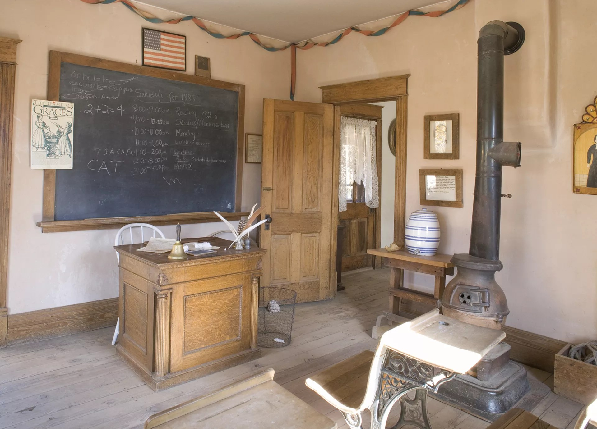 American One Room Schoolhouse Facts