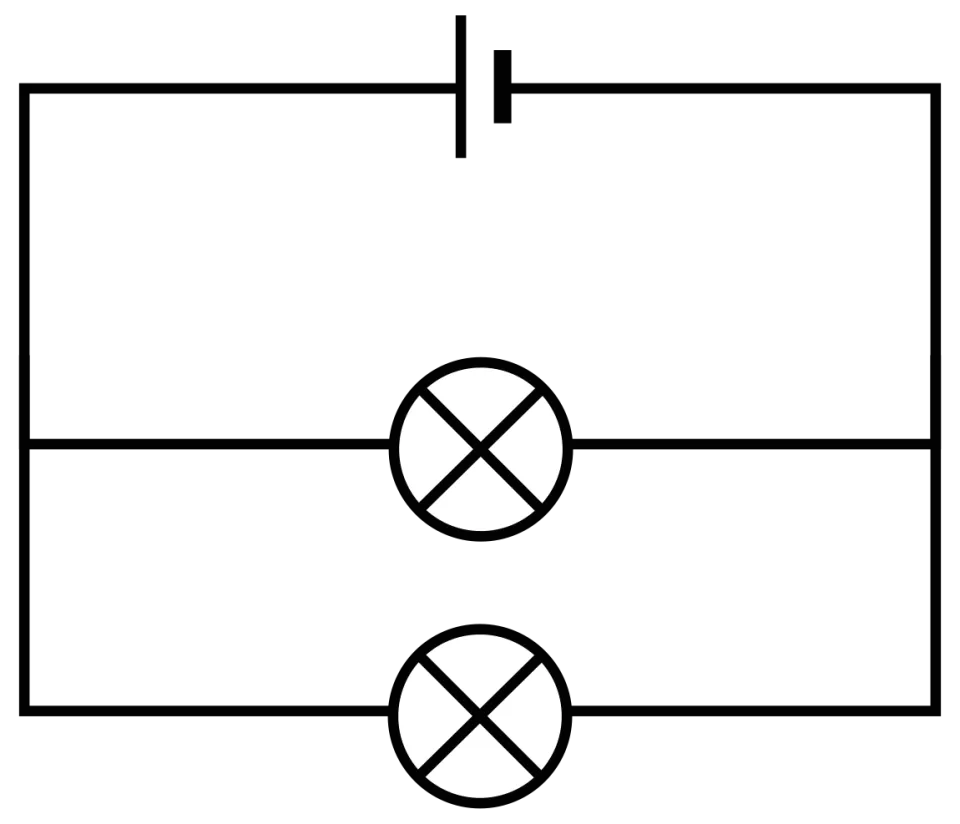 Light Bulbs In Parallel Circuit With Three Simple Series And Circuits