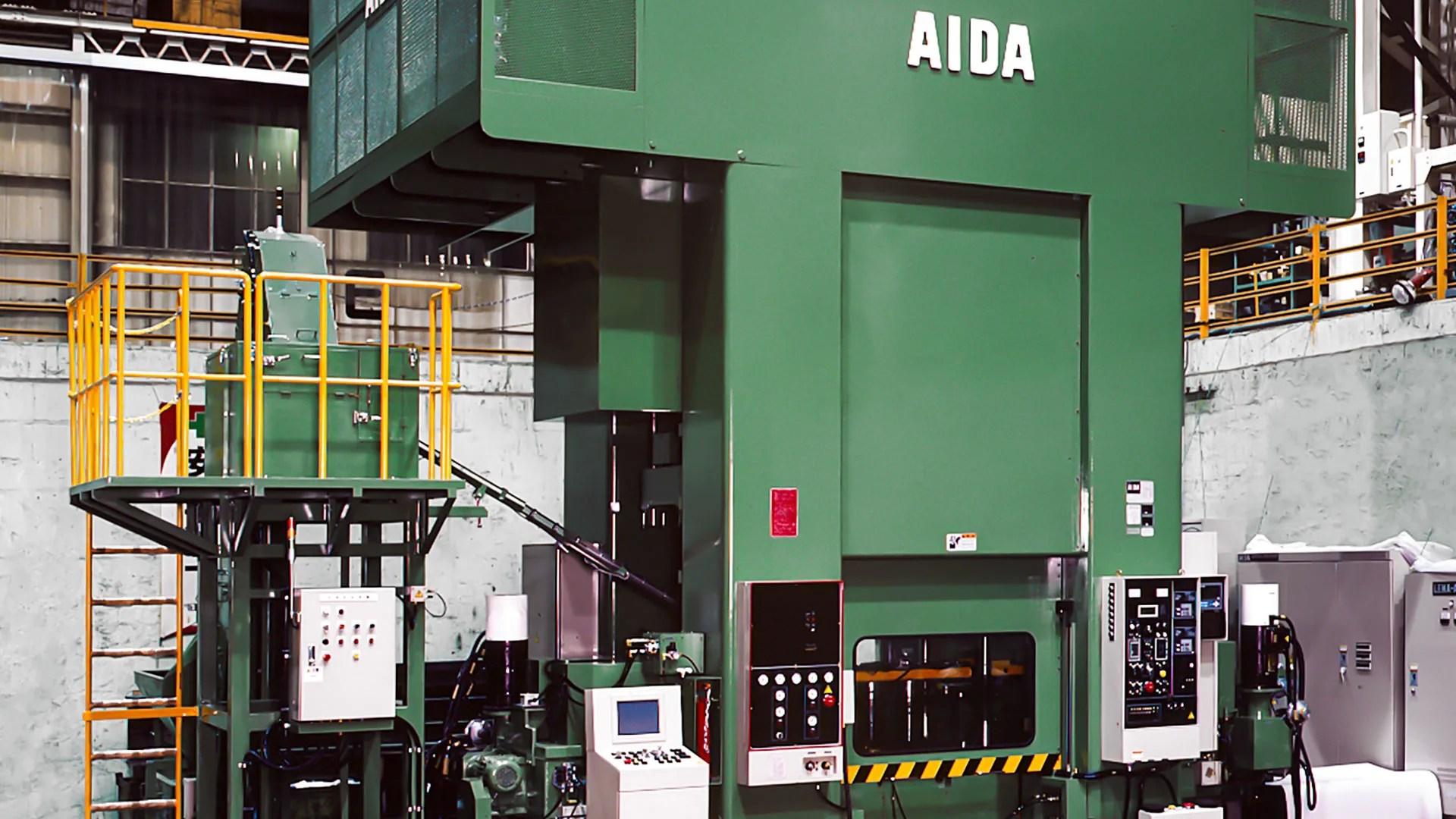 aida cold forging presses