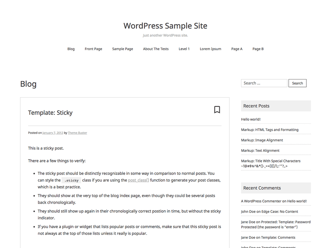 Noto Simple WordPress Theme