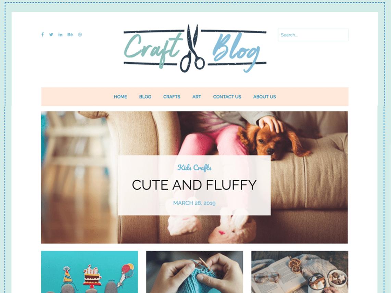 craftyblog WordPress Theme