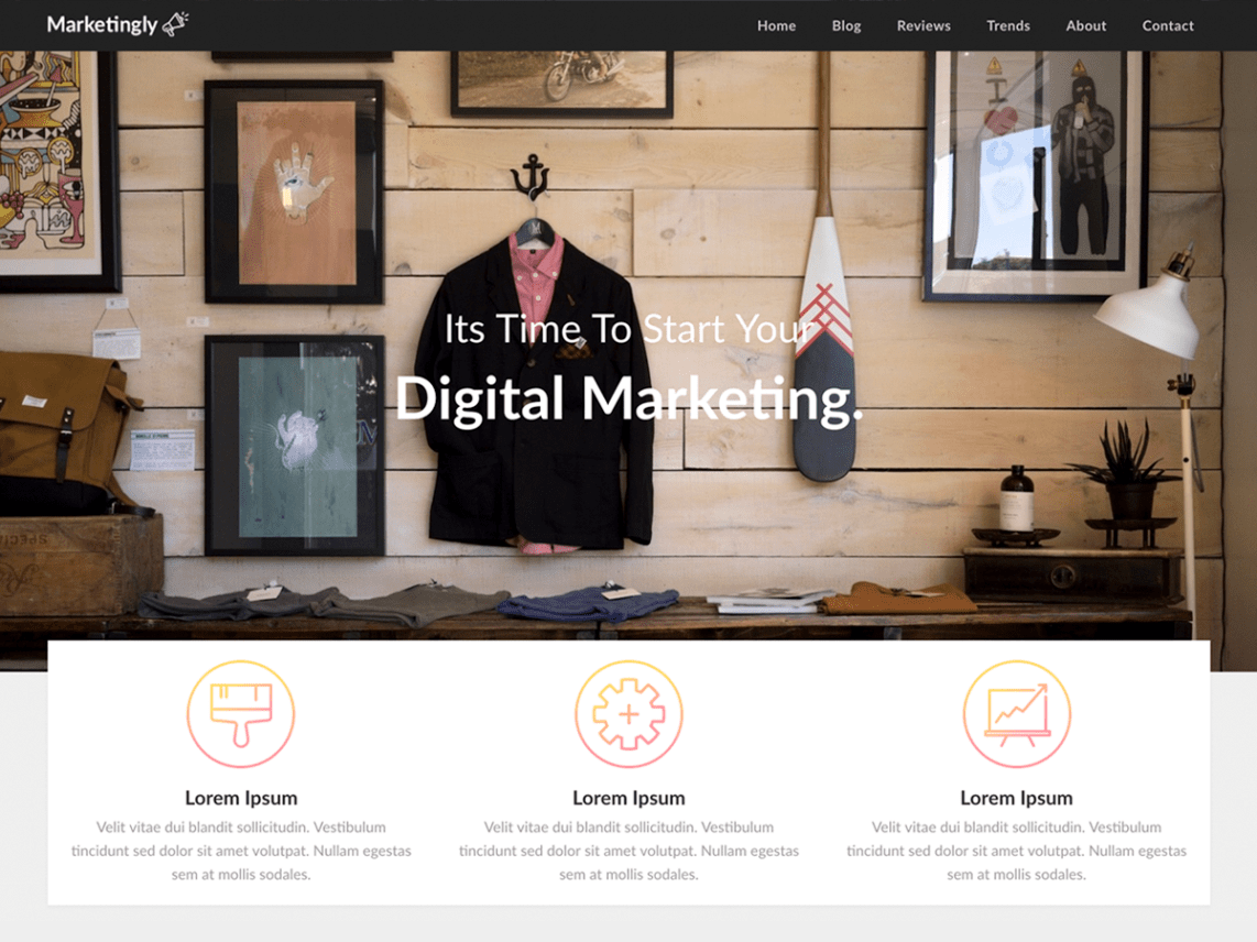 Marketingly WordPress Theme