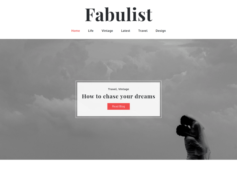 Fabulist WordPress Theme