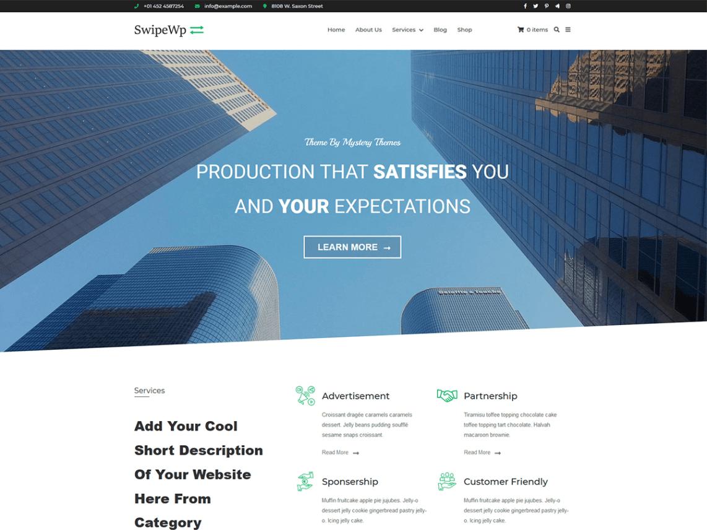 SwipeWP WordPress Theme