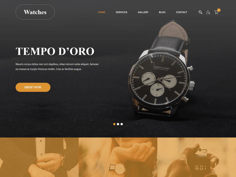 SKT Luxury WordPress Theme