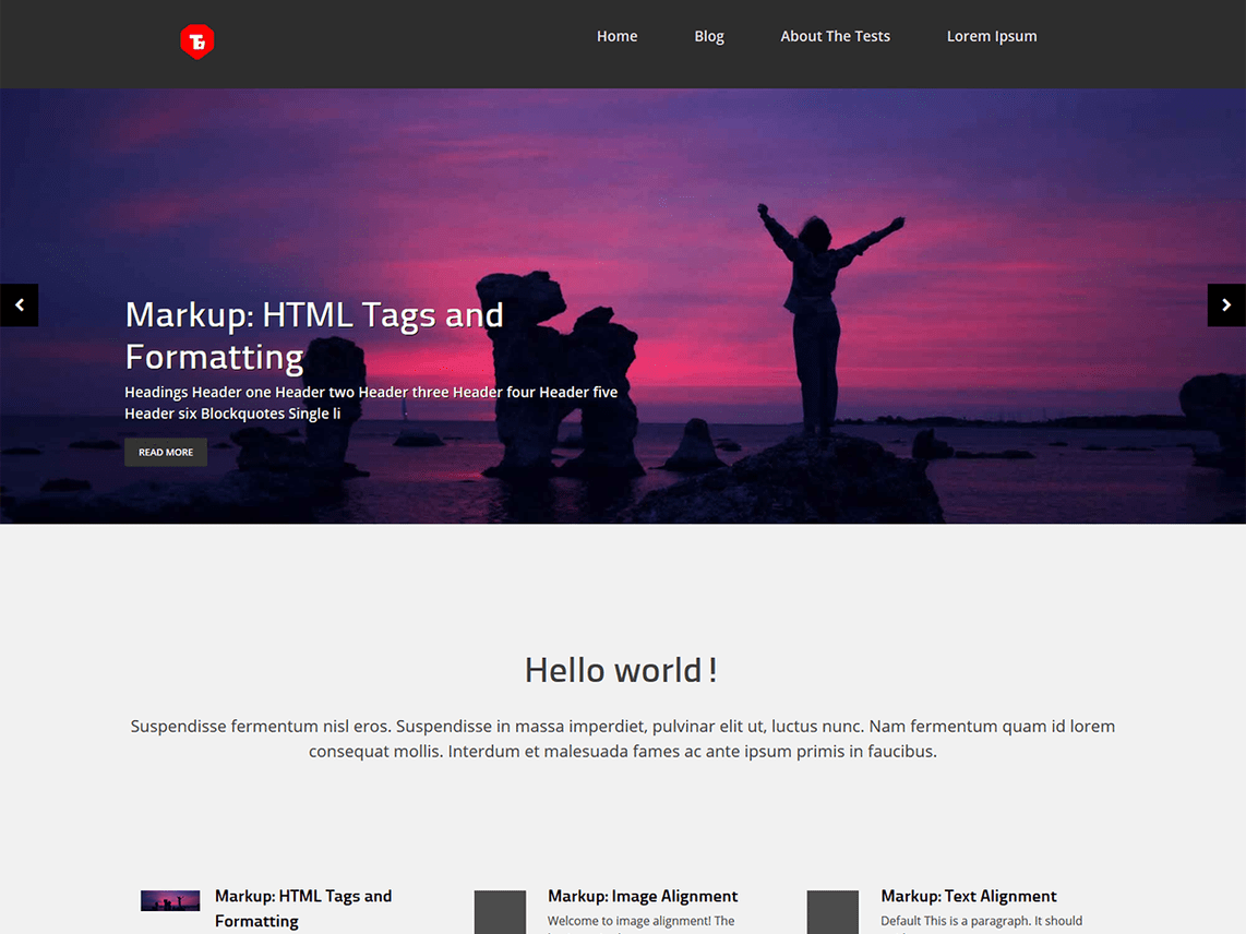 zebata WordPress Theme