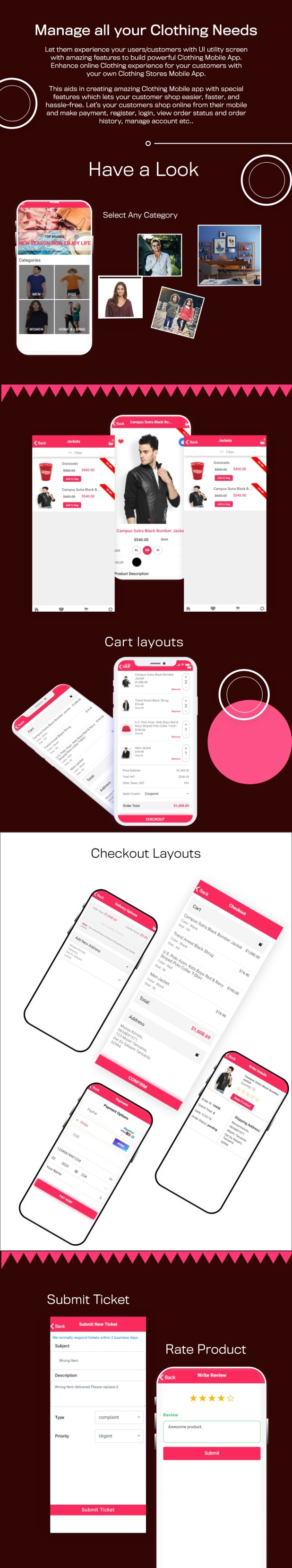 Clothing - Complete Ionic app for e-commerce shop - 4