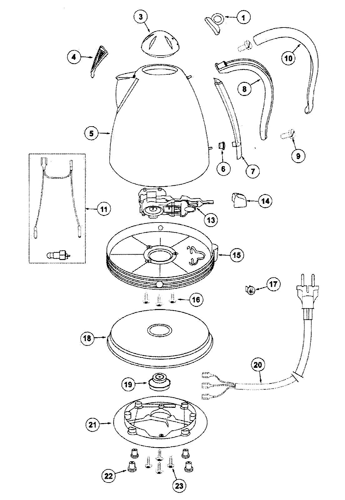 Kitchenaid Kettle Spare Parts Uk