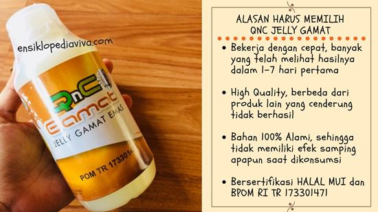 QnC Jelly Gamat Obat Tinnitus Herbal
