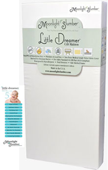 Second On Our List Of The Safest Baby Mattresses For Your Toddler Is Moonlight Slumber Little Dreamer Crib Mattress This And