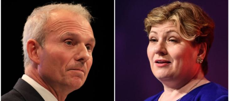 David Lidington and Emily Thornberry