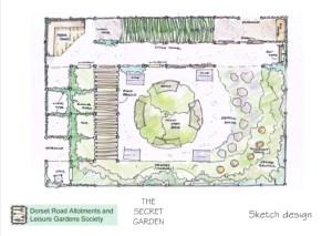 The Secret Garden is taking shape
