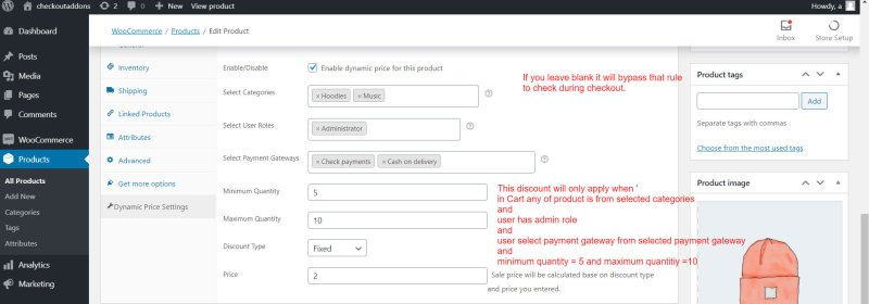 Dynamic Pricing Per Product for WooCommerce - 1
