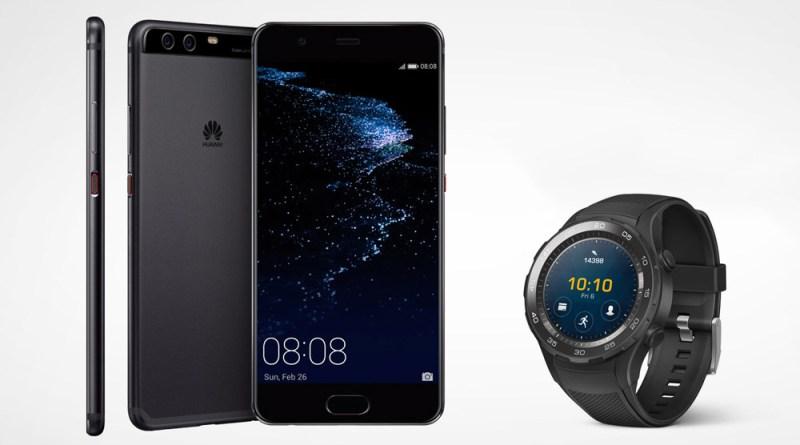 Huawei P10 alana Huawei Watch 2 hediye