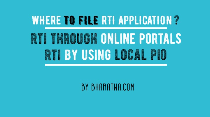Apply RTI online, offline. Benefits of RTI, Complete Guide on RTI, RTI Rules and Websites