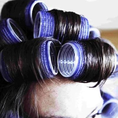 perming hair