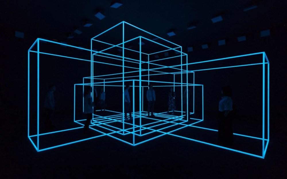 Antony Gormley, Breathing Room II, 2010. Avec l'aimable autorisation de Galleria Continua, San Giminiano, Roma, Les Moulins, La Havane, Pékin.