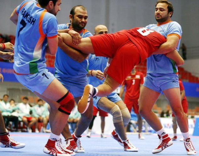 kabbadi india team