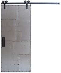 Scrap Metal Barn Door: Sliding Metal Barn Doors | Rustica ...