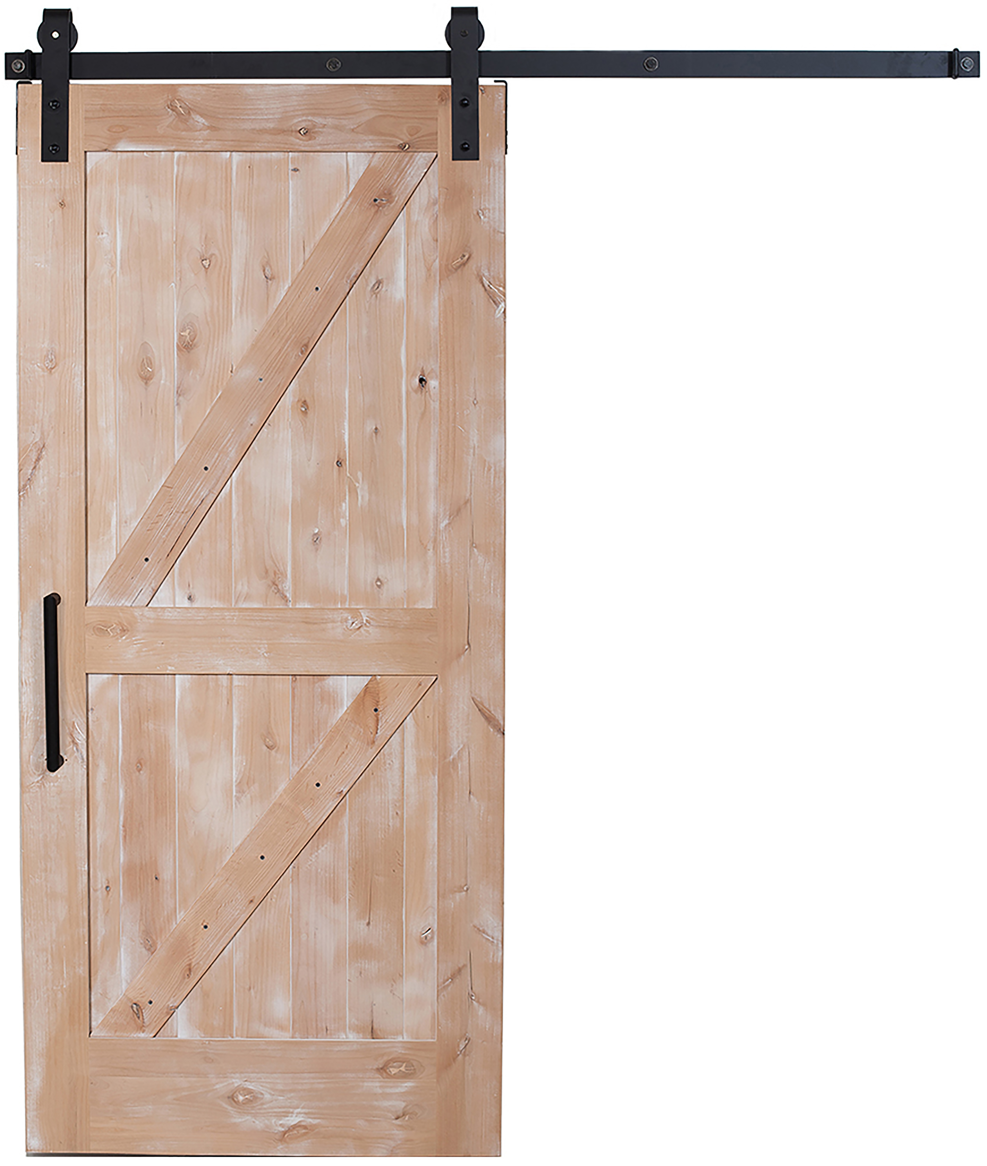 Double Z Barn Door Sliding Dutch Z Barn Door  Rustica