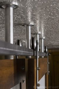Ceiling-Mounted Sliding Barn Door Track | Rustica Hardware